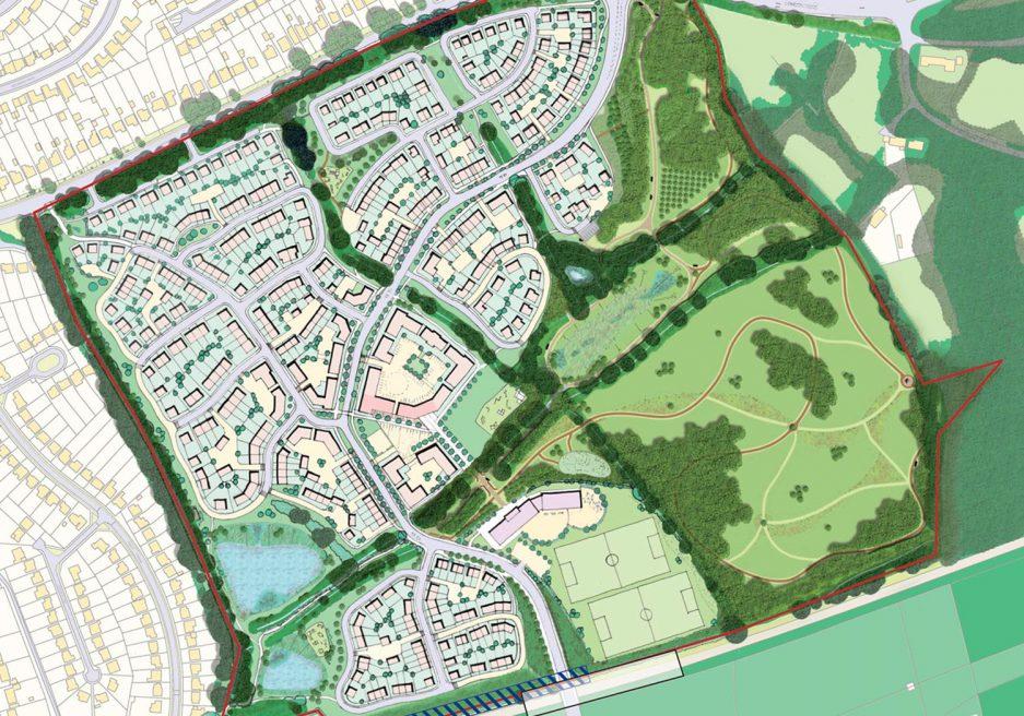 Montague Park Suitable Alternative Natural Greenspace, Wokingham
