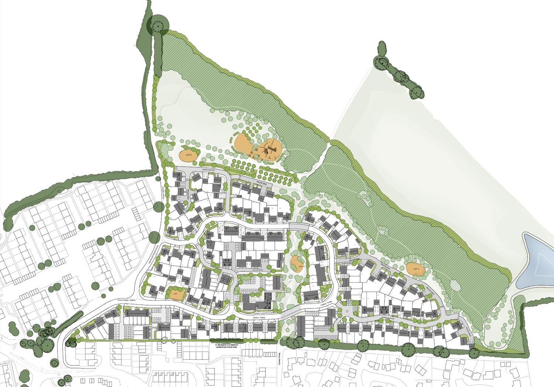 Projects-Residential-Great Cornard-Masterplan-1500x1050