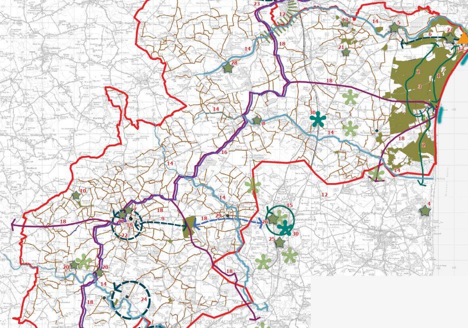 Suffolk Coastal Green Infrastructure Strategy