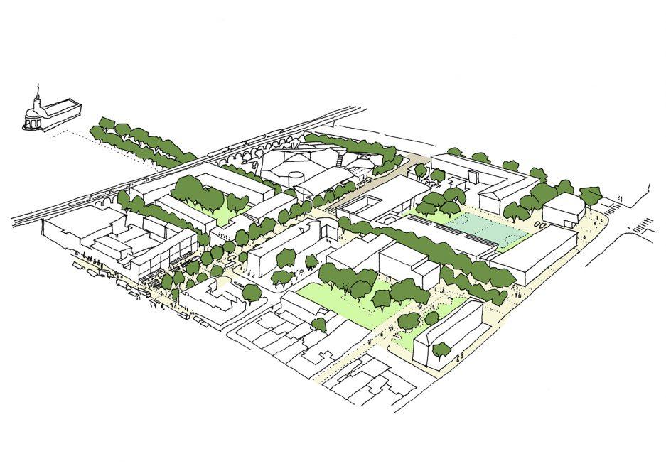 Giffin Street Strategic masterplan, Lewisham