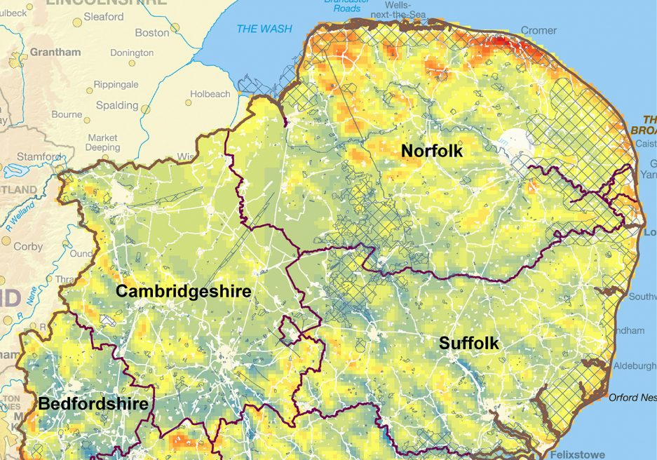 East of England Renewable and Low Carbon Energy Capacity Study
