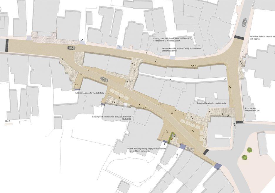 Diss Corn Hall Refurbishment and Heritage Triangle, Diss, Norfolk