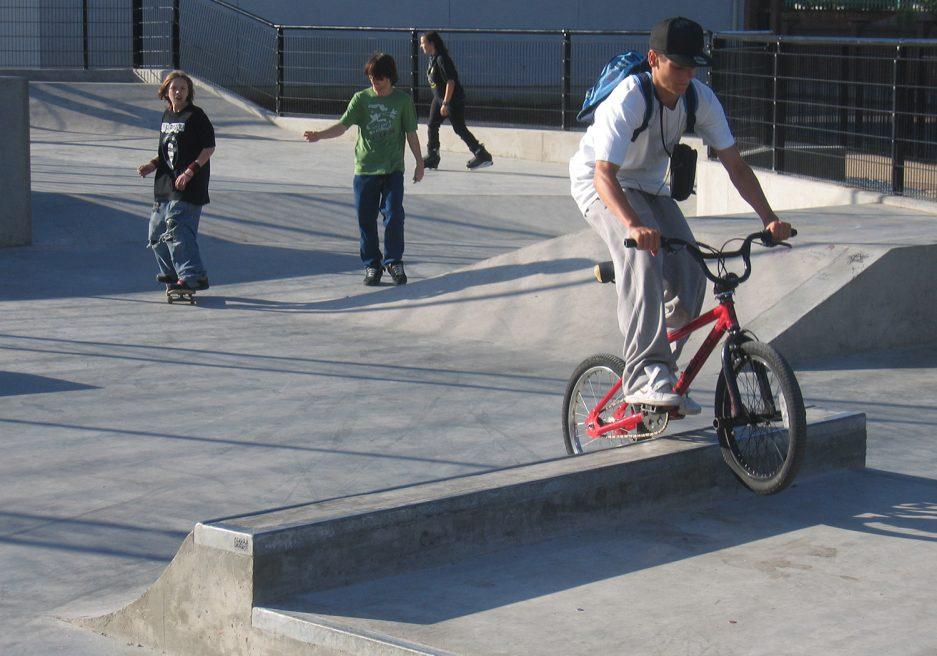 St Andrews Skate Park, Tower Hamlets
