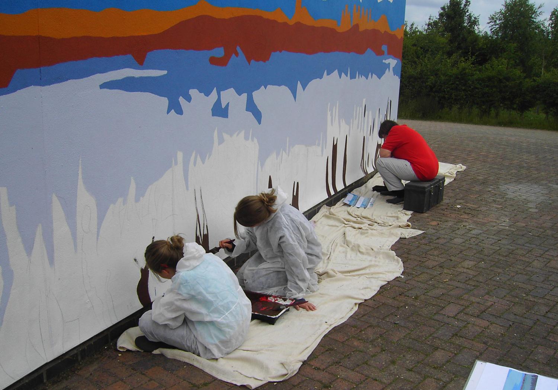 Projects-RecreationTourism-MarstonVale-PaintingWall-1500x1050