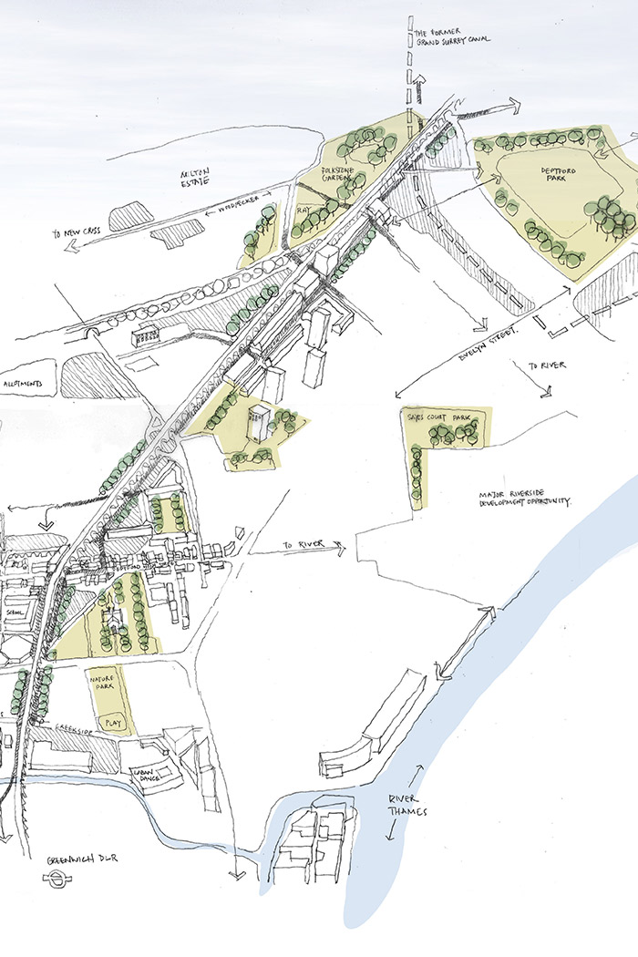 Projects-TransInfra-Quietway-MasterplanSketch-1050x700